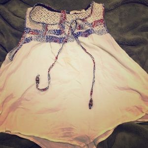 Flowy florally top